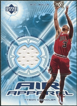 2002/03 Upper Deck Air Apparel #TCAA Tyson Chandler