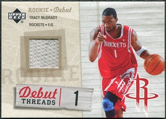 2005/06 Upper Deck Rookie Debut Threads #TM Tracy McGrady