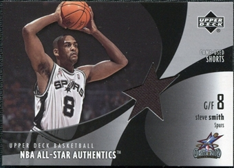 2002/03 Upper Deck All-Star Authentics Shorts #SSAS Steve Smith