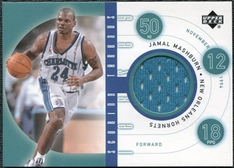 2002/03 Upper Deck Scoring Threads #SCJM Jamal Mashburn R