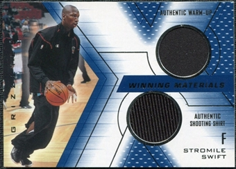 2001/02 Upper Deck SPx Winning Materials #SS Stromile Swift WU/Shirt