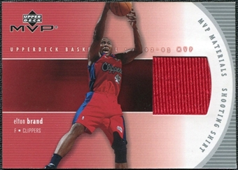 2002/03 Upper Deck Materials Shooting Shirt #EBS Elton Brand
