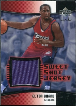 2004/05 Upper Deck Sweet Shot Jerseys #EB Elton Brand
