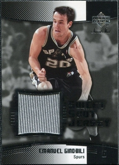 2004/05 Upper Deck Sweet Shot Jerseys #EG Manu Ginobili SP