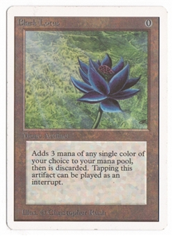 Magic the Gathering Unlimited Single Black Lotus - SLIGHT PLAY (SP)