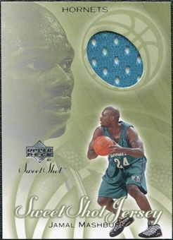 2001/02 Upper Deck Sweet Shot Game Jerseys #JM Jamal Mashburn