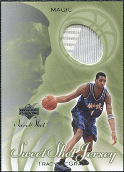 2001/02 Upper Deck Sweet Shot Game Jerseys #TM Tracy McGrady