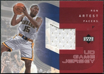 2002/03 Upper Deck UD Game Jerseys 1 #RA Ron Artest H