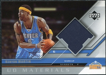 2005/06 Upper Deck UD Materials #KM Kenyon Martin