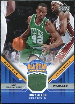 2005/06 Upper Deck All-Star Weekend Authentics #TA Tony Allen