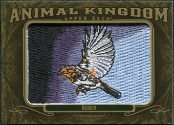 2011 Upper Deck Goodwin Champions Animal Kingdom Patches #AK5 Robin LC