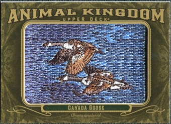 2011 Upper Deck Goodwin Champions Animal Kingdom Patches #AK20 Canada Goose LC