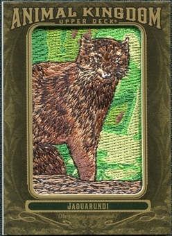 2011 Upper Deck Goodwin Champions Animal Kingdom Patches #AK24 Jaguarundi LC