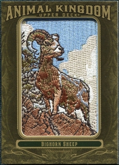 2011 Upper Deck Goodwin Champions Animal Kingdom Patches #AK35 Bighorn Sheep LC