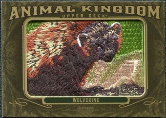 2011 Upper Deck Goodwin Champions Animal Kingdom Patches #AK44 Wolverine LC