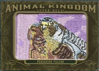 2011 Upper Deck Goodwin Champions Animal Kingdom Patches #AK53 Peregrine Falcon LC