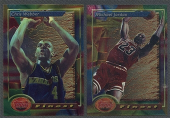 1993/94 Topps Finest Basketball Complete Set
