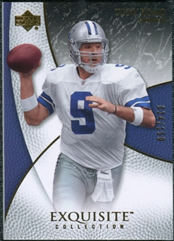2007 Upper Deck Exquisite Collection #17 Tony Romo /150
