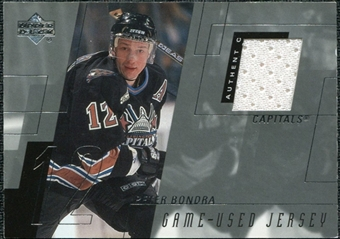 2000/01 Upper Deck Series 1 Game Jerseys #PE Peter Bondra