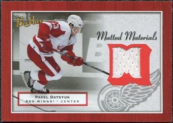 2005/06 Upper Deck Beehive Matted Materials #MMPD Pavel Datsyuk