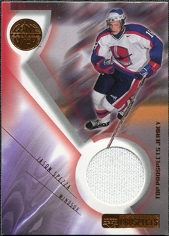 2001/02 Upper Deck UD Prospects Jerseys Jason Spezza #JWA