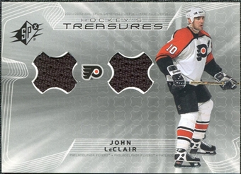 2001/02 Upper Deck SPx Hockey Treasures #HTLE John LeClair