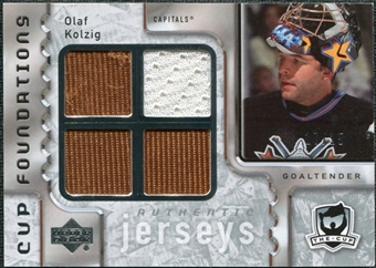 2006/07 Upper Deck The Cup Foundations #CQOK Olaf Kolzig /25
