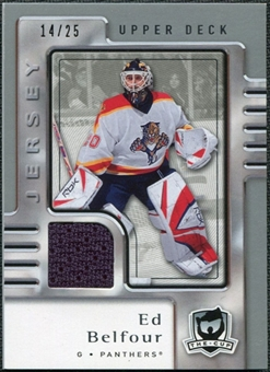 2006/07 Upper Deck The Cup Jerseys #36 Ed Belfour /25
