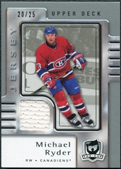 2006/07 Upper Deck The Cup Jerseys #45 Michael Ryder /25