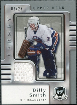 2006/07 Upper Deck The Cup Jerseys #57 Billy Smith /25