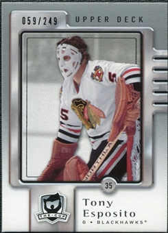 2006/07 Upper Deck The Cup #20 Tony Esposito /249