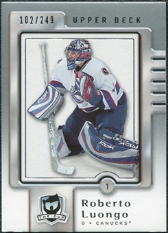 2006/07 Upper Deck The Cup #87 Roberto Luongo /249