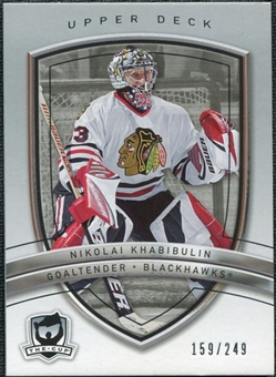 2005/06 Upper Deck The Cup #24 Nikolai Khabibulin /249