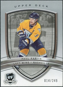 2005/06 Upper Deck The Cup #61 Paul Kariya /249