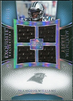 2007 Upper Deck Exquisite Collection Maximum Jersey Silver #DW DeAngelo Williams /75