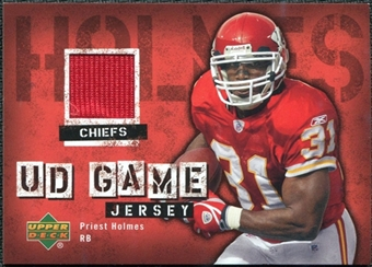 2006 Upper Deck Game Jerseys #GJPH Priest Holmes