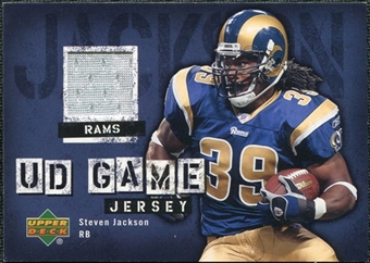 2006 Upper Deck Game Jerseys #GJSJ Steven Jackson