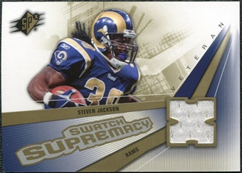 2006 Upper Deck SPx Swatch Supremacy #SWSJ Steven Jackson