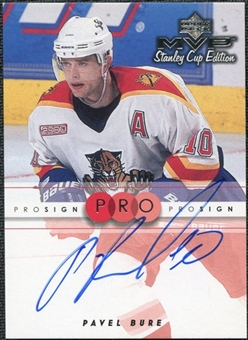 1999/00 Upper Deck MVP Stanley Cup Edition ProSign #PB Pavel Bure