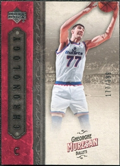 2006/07 Upper Deck Chronology #28 Gheorghe Muresan /199
