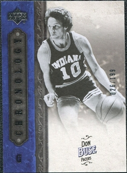 2006/07 Upper Deck Chronology #32 Don Buse /199