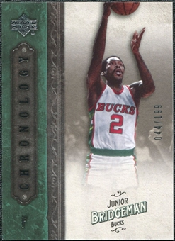 2006/07 Upper Deck Chronology #50 Junior Bridgeman /199