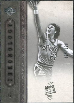 2006/07 Upper Deck Chronology #58 George Karl /199