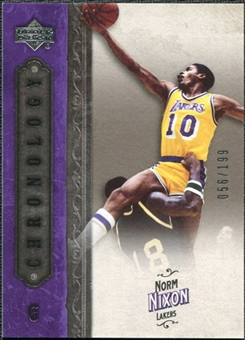 2006/07 Upper Deck Chronology #67 Norm Nixon /199