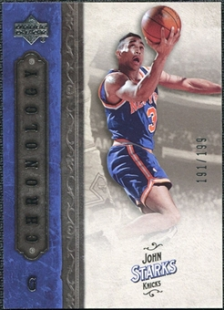 2006/07 Upper Deck Chronology #74 John Starks /199