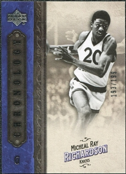 2006/07 Upper Deck Chronology #90 Michael Ray Richardson /199