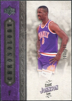 2006/07 Upper Deck Chronology #98 Eddie Johnson /199