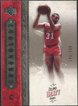 2006/07 Upper Deck Chronology #100 Zelmo Beaty /199