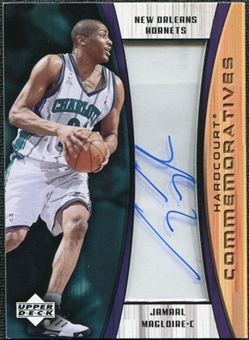 2002/03 Upper Deck Hardcourt Autographs #JMC Jamaal Magloire