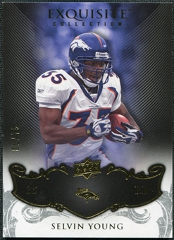 2008 Upper Deck Exquisite Collection #48 Selvin Young /75